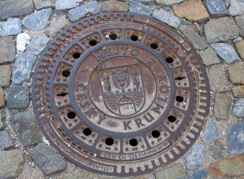 Český Krumlov - original sink