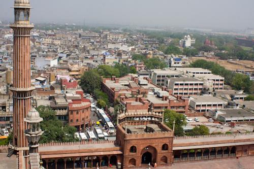 Old Delhi - view from Jama Masjid