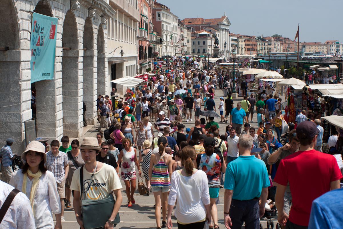Venice full of tourists