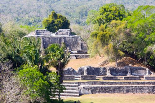 Maya World - Xunantunich - archeological site in Belize